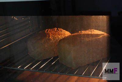 panes en el horno sin molde