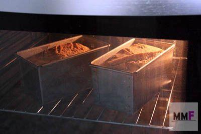 panes en el horno