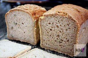 pan de linaza y pan de goma xantana