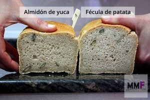 Pan de fécula de patata vs pan de almidón de yuca