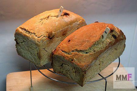 Dos panes con diferente proporción de MaMa