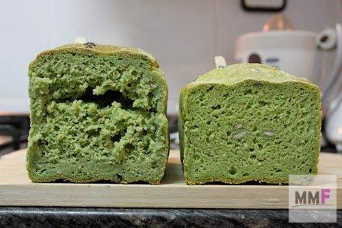 pan verde miga