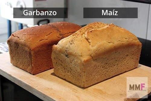 Test harina de garbanzo Vs harina de maíz.