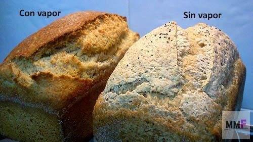 con vapor! mejorar tu pan sin gluten