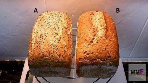 los dos panes enteros