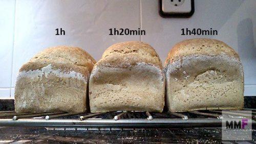 3 panes : 3 fermentaciones