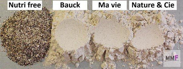 Harina de trigo sarraceno, comparativa de marcas.