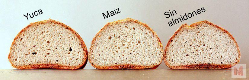 tres panes sin gluten