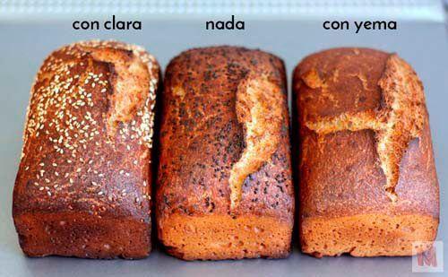 Huevo, proteinas y pan sin gluten