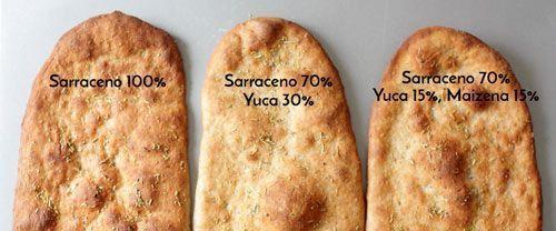 trigo sarraceno pizzas