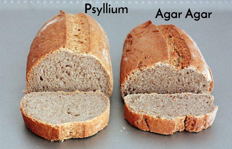 Agar agar como sustituto del gluten