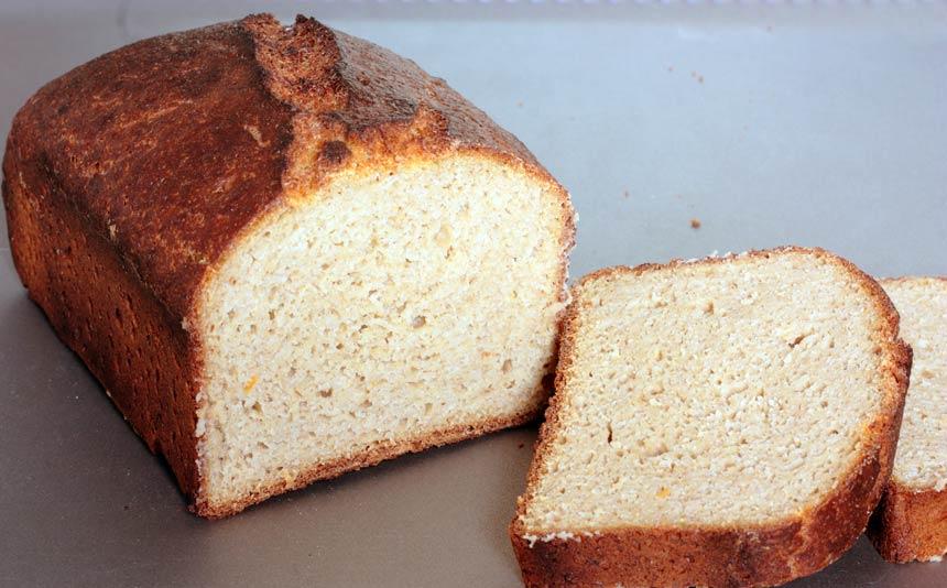 Pan sin gluten con boniato